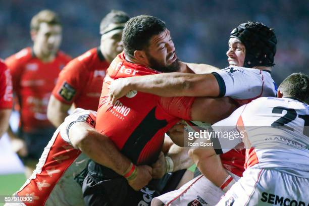 Marcel Van Der Merwe of Toulon during the Top 14 match between Toulon and Oyonnax at Felix Mayol Stadium on December 23 2017 in Toulon France