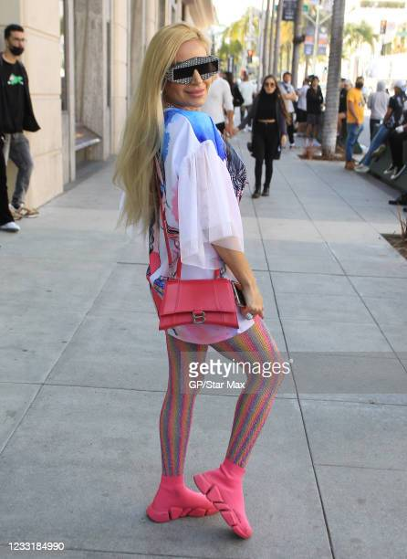 Marcela Iglesias is seen on May 29, 2021 in Los Angeles, California.