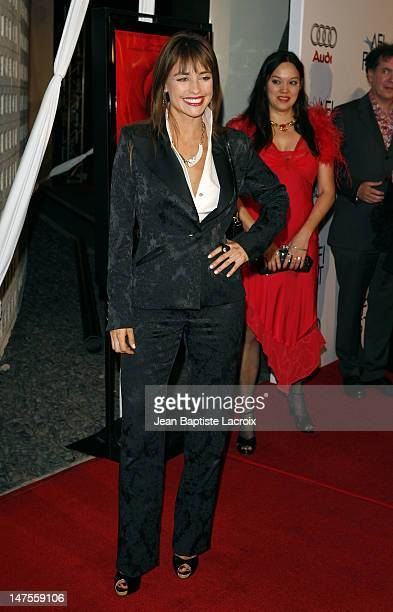 Marcela Mar arrives at the AFI FEST 2007 presented by Audi closing night gala screening of 'Love In The Time Of Cholera' during held at the Cinerama...