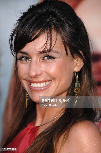 Marcela Mar arrives at the Premiere of Columbia Pictures Pineapple Express at the Mann Village Theater on July 31 2008 in Los Angeles California