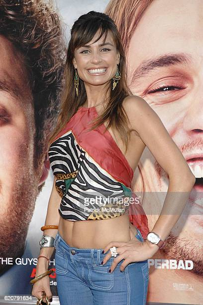 Marcela Mar attends Pineapple Express Los Angeles Premiere at Man Village on July 31 2008 in Westwood CA