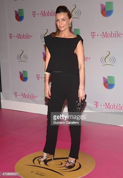 Marcela Mar attends Premio Lo Nuestro a la Musica Latina 2014 at American Airlines Arena on February 20 2014 in Miami Florida