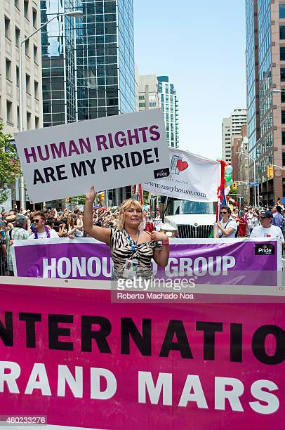 Marcela Romero International Marshall in the Pride Week which is a tenday event held in Toronto Canada during the end of June each year It is a...