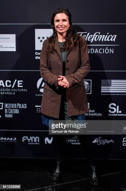 Marcela Saiz attends 'Cine Por Mujeres' Festival Presentation on April 3 2018 in Madrid Spain