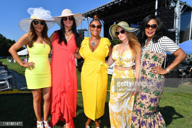 Marcela Urioste Jessica Wentworth Susan Smallwood producer of Grandiosity Events CigarsGuitars Charity PoloJazz charity event Powered by Logical...