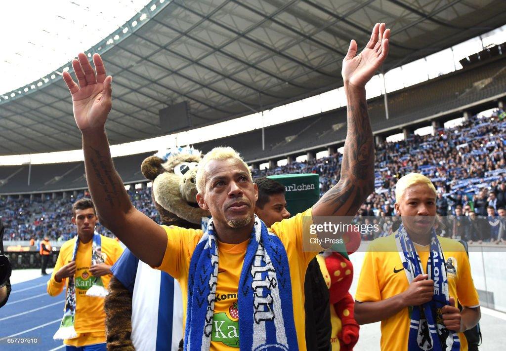 Hertha BSC legend Marcelinho - farewell match