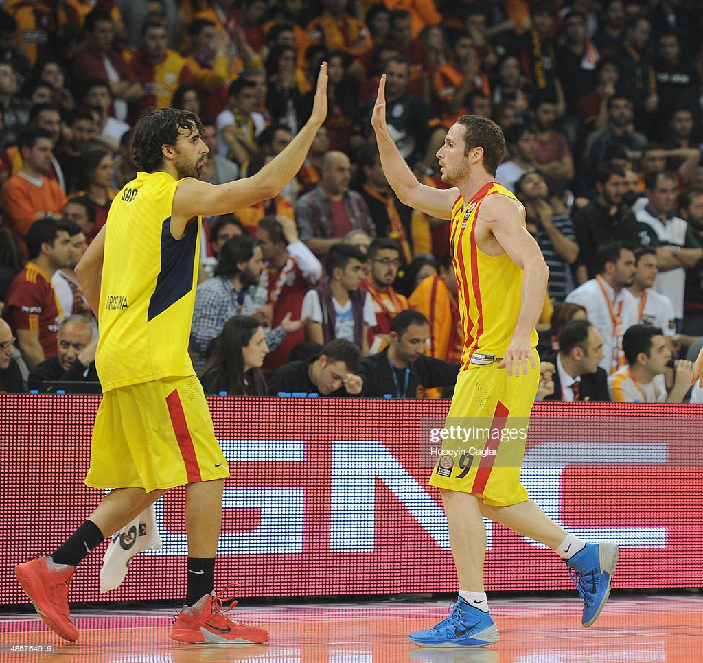 Galatasaray Liv Hospital Istanbul v FC Barcelona Regal - Turkish Airlines Euroleague Play Off
