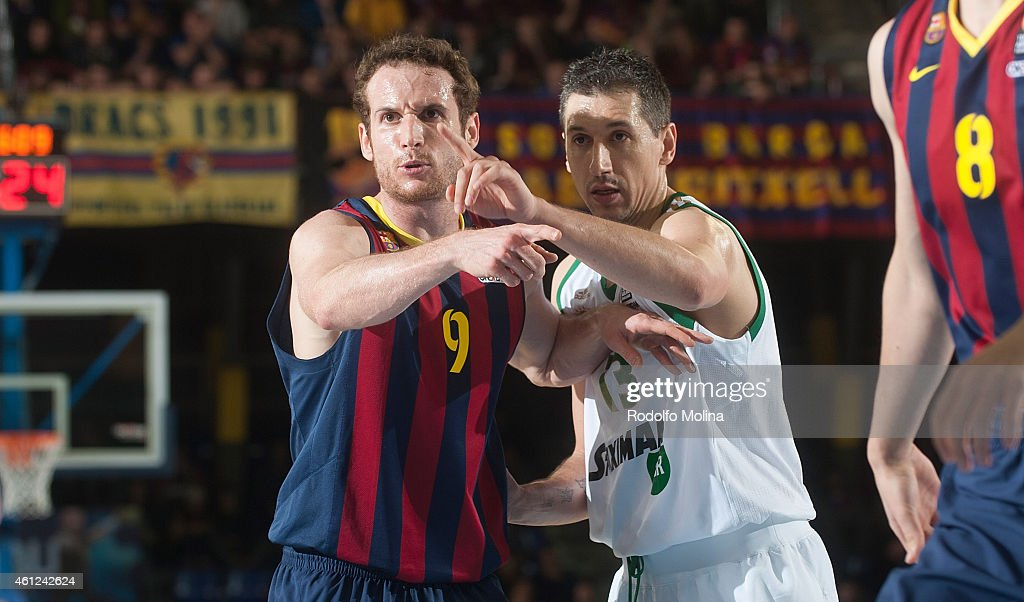 FC Barcelona v Panathinaikos Athens - Turkish Airlines Euroleague Top 16 : News Photo
