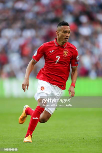 Marcelinho of Bulgaria during the UEFA Euro 2020 qualifier match between England and Bulgaria at Wembley Stadium on September 7, 2019 in London,...