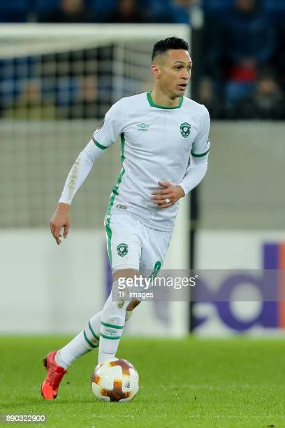 Marcelinho of Ludogorets controls the ball during the UEFA Europa League group C match between 1899 Hoffenheim and PFC Ludogorets Razgrad at Wirsol...