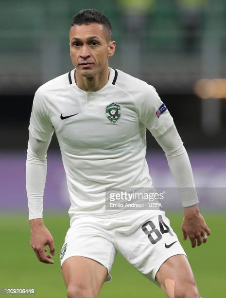 Marcelinho of PFC Ludogorets looks on during the UEFA Europa League round of 32 second leg match between FC Internazionale and PFC Ludogorets Razgrad...