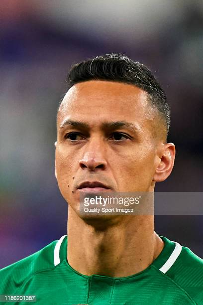 Marcelinho of PFC Ludogorets Razgrad looks on prior to the UEFA Europa League group H match between Espanyol Barcelona and PFC Ludogorets Razgrad at...