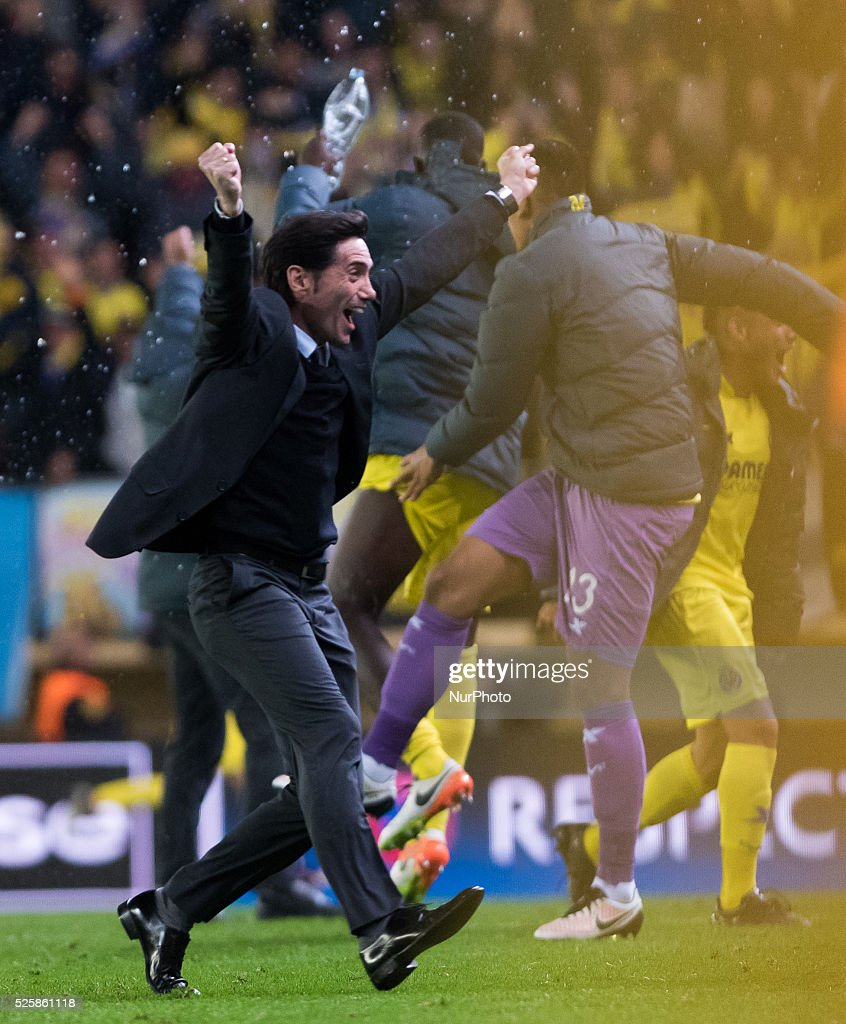 Villarreal CF v Liverpool - UEFA Europa League Semi Final: First Leg : News Photo