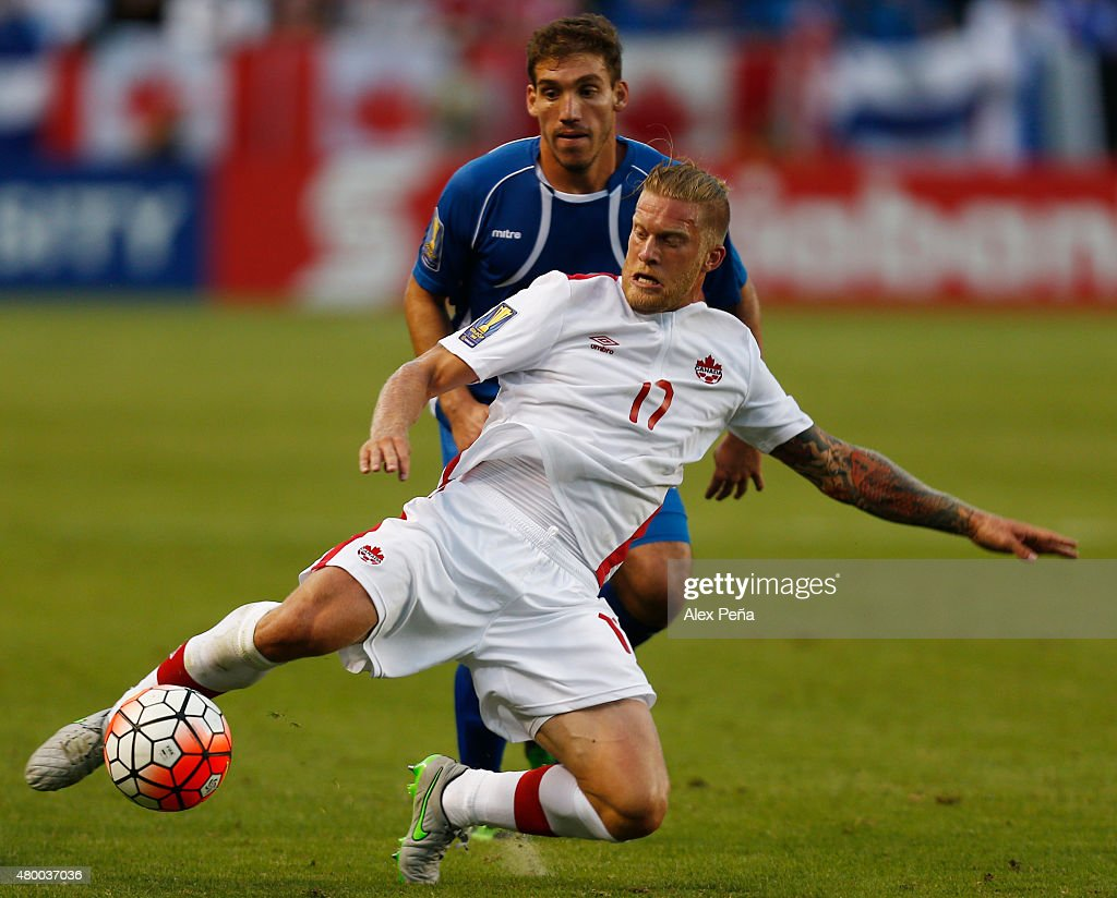 El Salvador v Canada: Group B - 2015 CONCACAF Gold Cup : ニュース写真