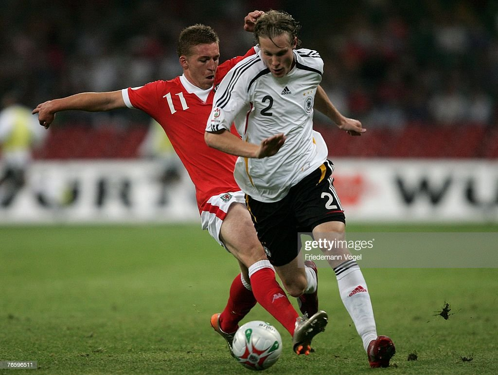 Wales v Germany - Euro 2008 Qualifier : News Photo
