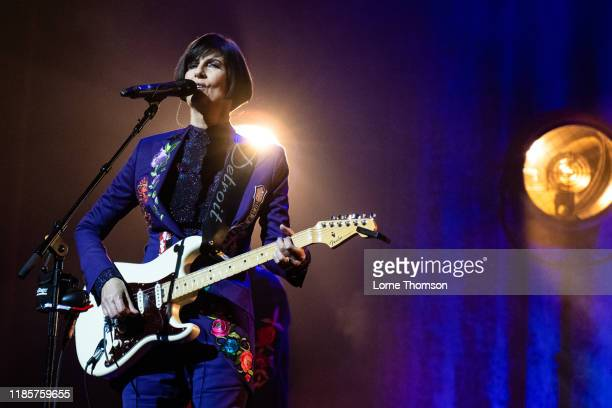 Marcella Detroit of Shakespears Sister performs at Palladium Theatre on November 05 2019 in London England