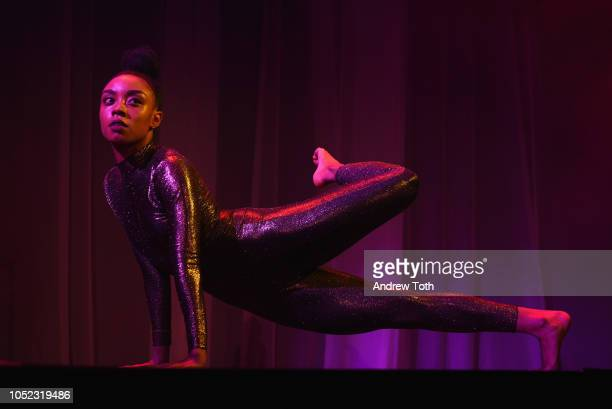 Marcella Lewis performs on stage during the 2018 Princess Grace Awards Gala at Cipriani 25 Broadway on October 16 2018 in New York City