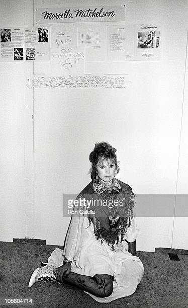 Marcella Mitchelson during Art Expo Exhibit at Jacob Javits Center in Los Angeles, California, United States.