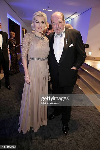 Marcella Siegel and Ralph Siegel attend the Semper Opera Ball at Semperoper on February 7 2014 in Dresden Germany