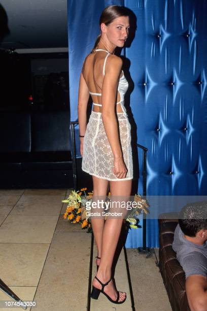Marcella Siegel attends the Blubb Club at P1 in May 1998 in Munich Germany
