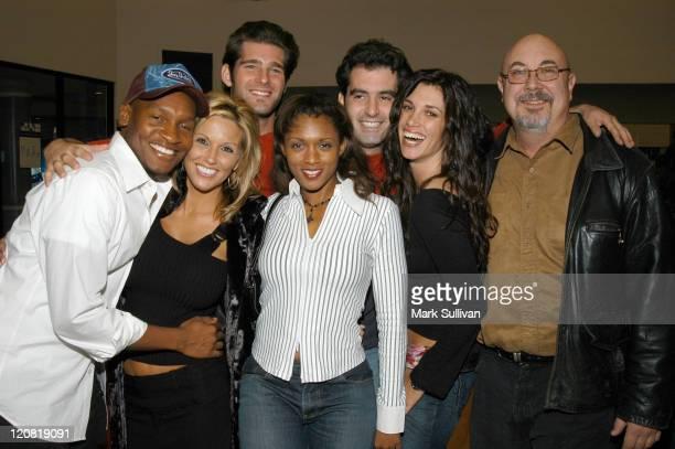 Marcellas Reynolds Tonya Paoni Jason Guy Danielle Reyes Josh Feinberg Lisa Donahue and Gerry Lancaster from Big Brother 3