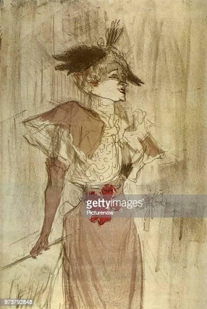 Marcelle Lender, Toulouse-Lautrec, Henri de, 1895 .
