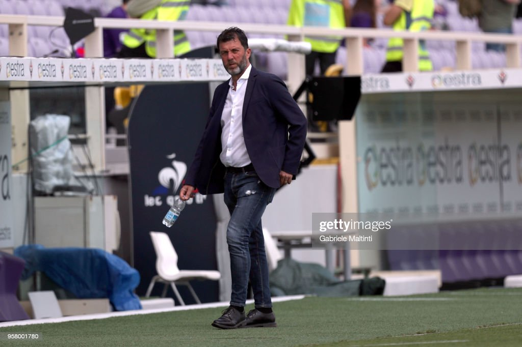 Marcello Carli general manager of Cagliari Calcio during the serie A match between ACF Fiorentina and Cagliari Calcio at Stadio Artemio Franchi on May 13, 2018 in Florence, Italy.