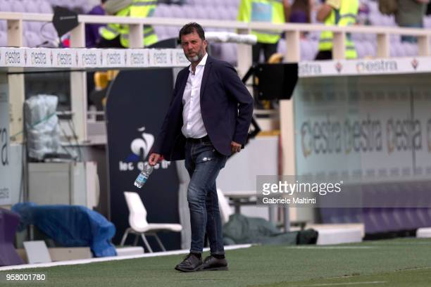 Marcello Carli general manager of Cagliari Calcio during the serie A match between ACF Fiorentina and Cagliari Calcio at Stadio Artemio Franchi on...