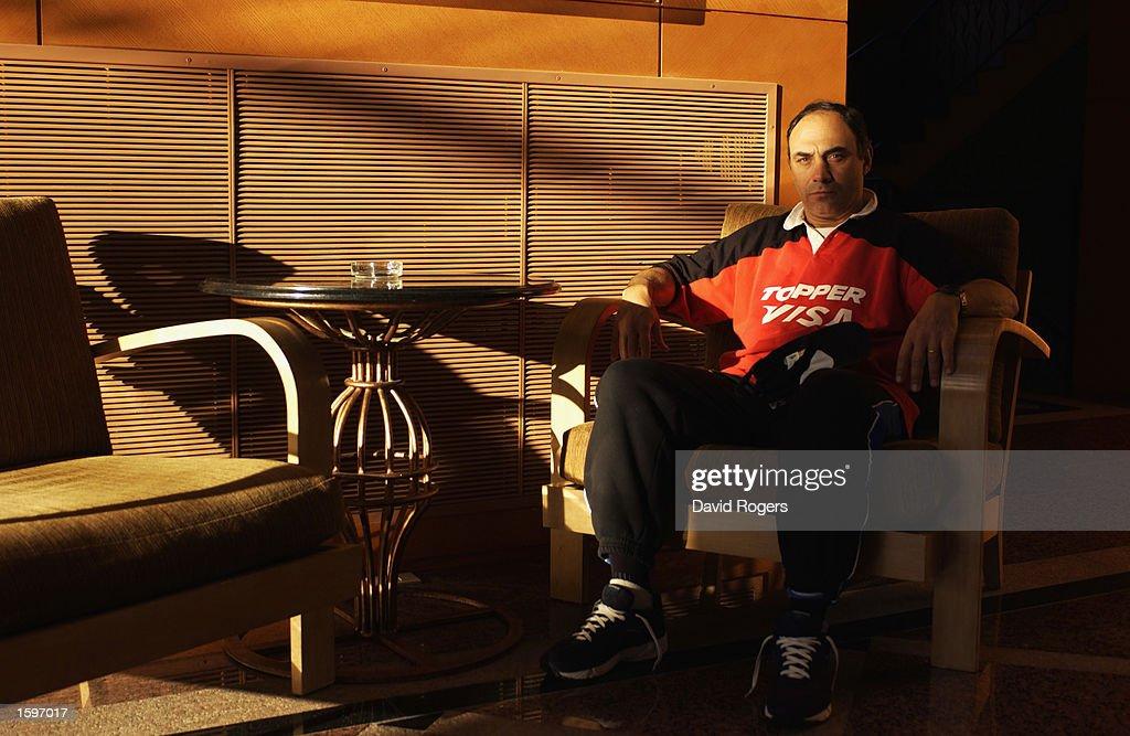 A portrait of Marcello Loffreda the Argentine Team Coach : News Photo
