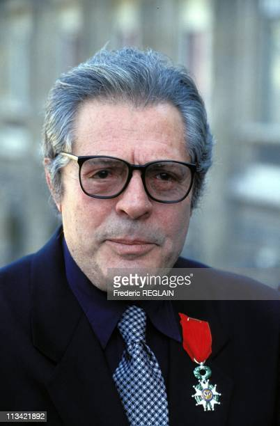 Marcello Mastroianni Receives French Legion Of Honor Medal On August 3rd 1993