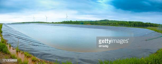 Marcellus Shale Containment Pond