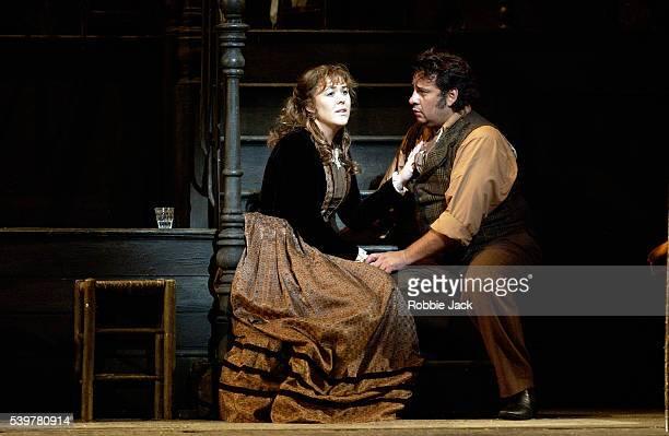 Marcelo Alvarez stars as Rodolfo and Katie Van Kooten stars as Mimi in La Boheme Composer Giacomo Puccini