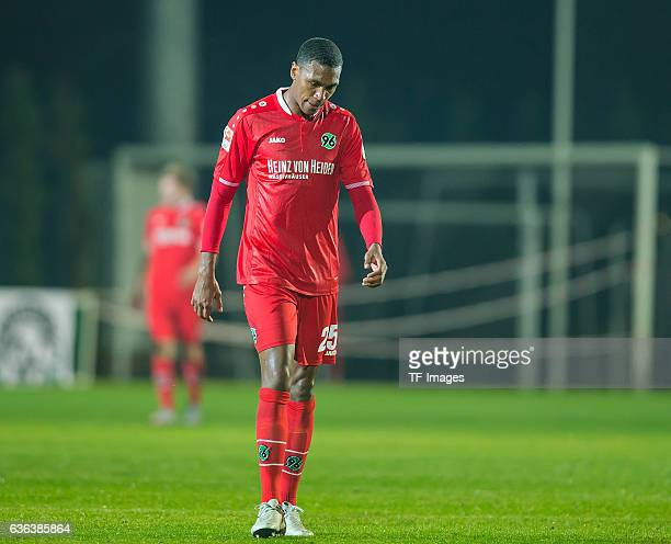 Marcelo Antonio Guedes Filho of Hannover 96 are disappointed after the Friendly Match between Hannover 96 and Hertha BSC at Cornelia Sports Center on...