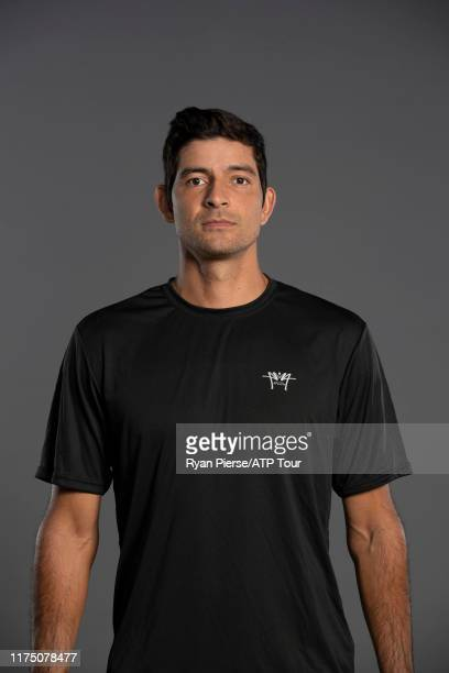 Marcelo Arevalo of Spain poses for his official portrait at the Australian Open at Melbourne Park on January 11, 2019 in Melbourne, Australia.