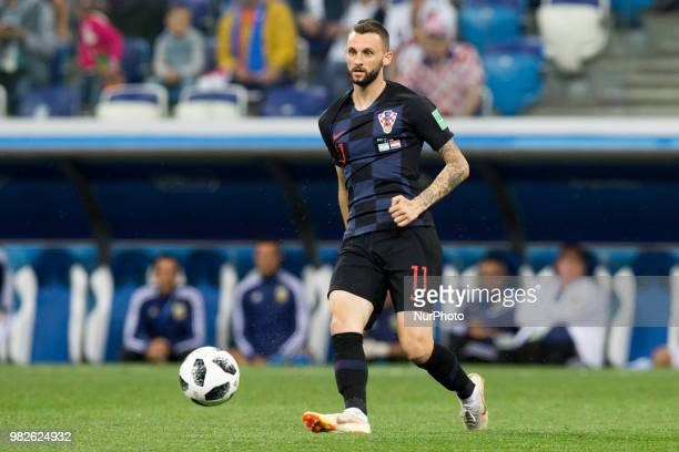 Marcelo Brozovic during the Russia 2018 World Cup Group D football match between Argentina and Croatia at the Nizhny Novgorod Stadium in Nizhny...