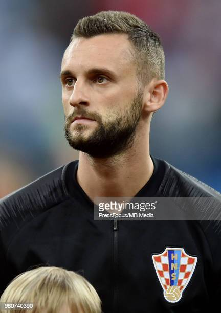 Marcelo Brozovic of Croatia during the 2018 FIFA World Cup Russia group D match between Argentina and Croatia at Nizhniy Novgorod Stadium on June 21...