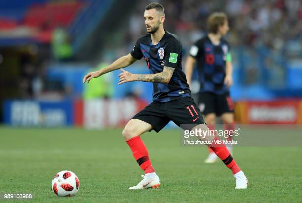Marcelo Brozovic of Croatia during the 2018 FIFA World Cup Russia Round of 16 match between Croatia and Denmark at Nizhny Novgorod Stadium on July 1...