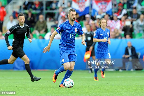 Marcelo BROZOVIC of Croatia during the UEFA EURO 2016 Group D match between Czech Republic and Croatia at Stade GeoffroyGuichard on June 17 2016 in...