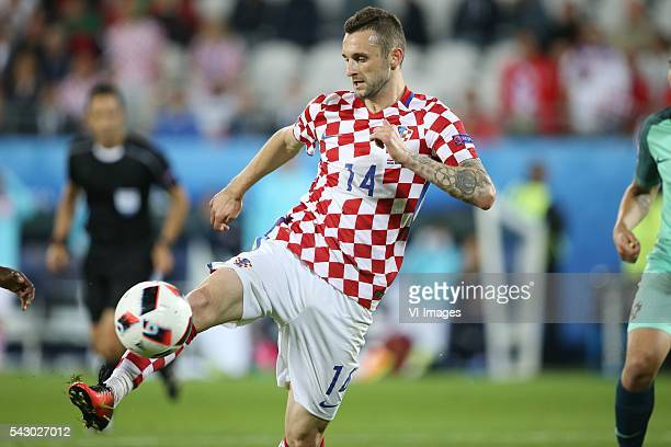 Marcelo Brozovic of Croatia during the UEFA Euro 2016 round of 16 match between Croatia and Portugal on June 25 2016 at the stade BollaertDelelis in...