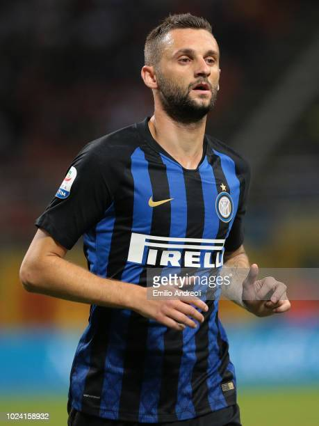 Marcelo Brozovic of FC Internazionale looks on during the serie A match between FC Internazionale and Torino FC at Stadio Giuseppe Meazza on August...