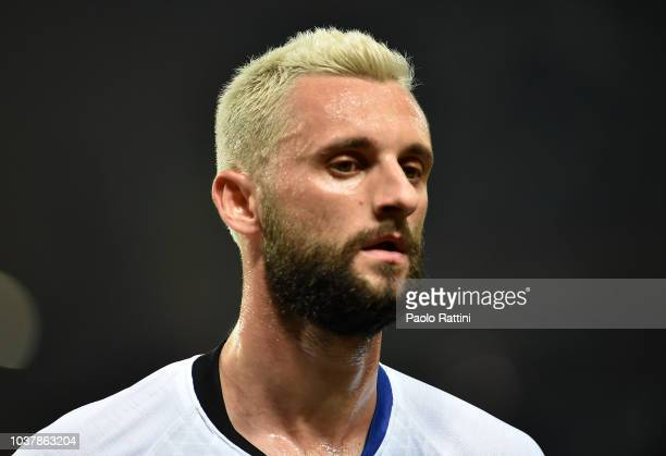 Marcelo Brozovic of Inter during the serie A match between UC Sampdoria and FC Internazionale at Stadio Luigi Ferraris on September 22 2018 in Genoa...