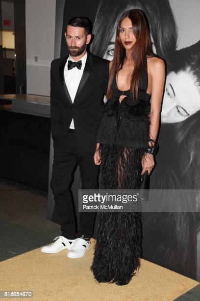 Marcelo Burlon and Lea T attend GIVENCHY Celebrates The Closing of MARINA ABRAMOVIC'S The Artist Is Present At The Museum of Modern Art on June 1st...