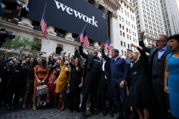 NY: WeWork Begins Trading On NYSE Following IPO