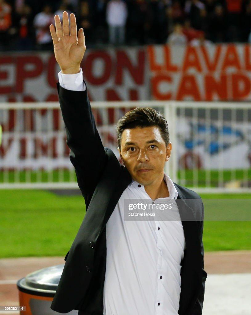 River Plate v FBC Melgar - Copa Conmebol Libertadores Bridgestone 2017 : News Photo