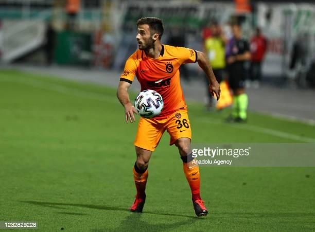 Marcelo Josemir Saracchi Pintos of Galatasaray in action during the Turkish Super Lig week 41 match between Yukatel Denizlispor and Galatasaray at...