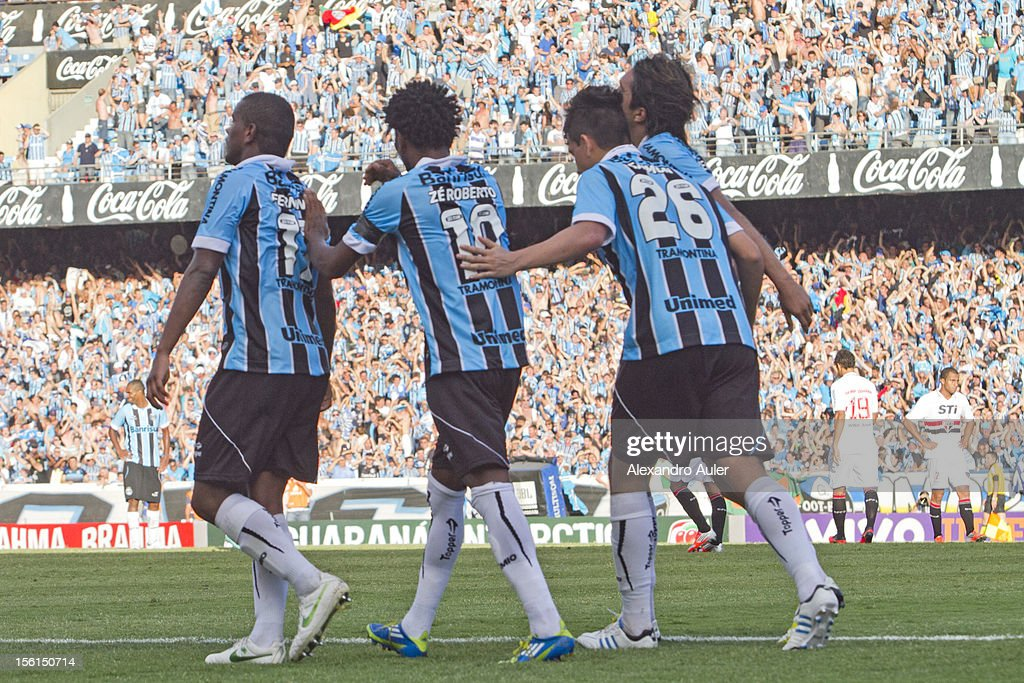 Gremio v Sao Paulo - Brazilian Serie A