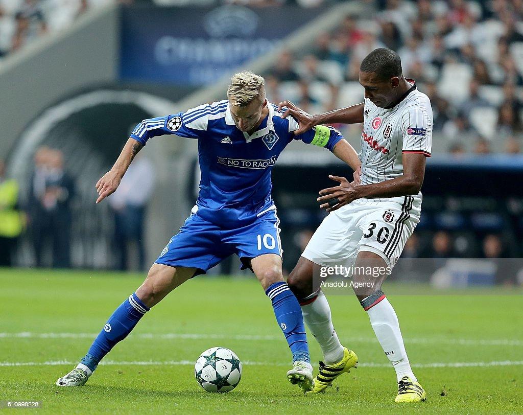 Besiktas v Dinamo Kiev: UEFA Champions League : News Photo