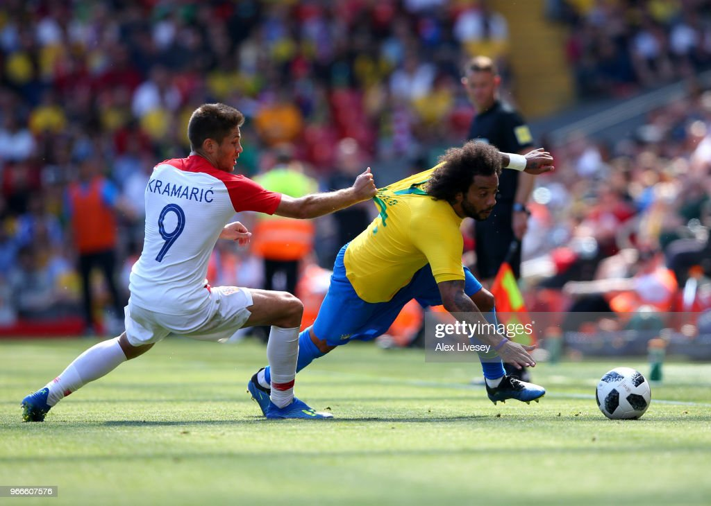 Croatia v Brazil - International Friendly