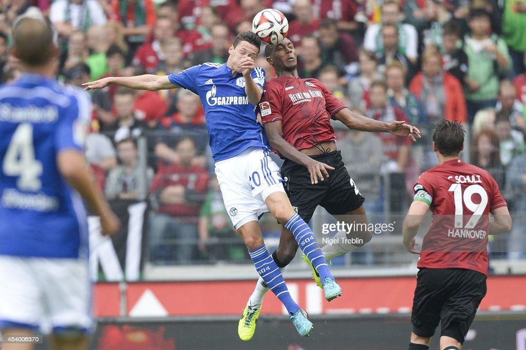 Hannover 96 v FC Schalke 04 - Bundesliga : News Photo