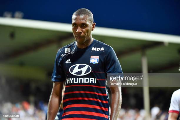Marcelo of Lyon during the friendly match between Olympique Lyonnais Lyon and Ajax Amsterdam on July 18, 2017 in Bourgoin-Jallieu, France.